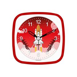 EUROTIME Kinderwecker Rakete rot, 27133-01