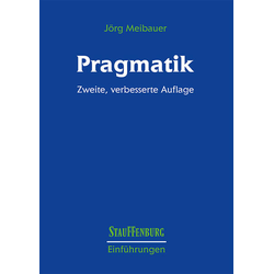 Pragmatik als Buch von Jörg Meibauer