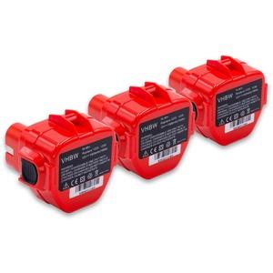 vhbw Akku passend für Klauke EK 12025, EK 12042, EK 120UPLUS, EK 18PLUS, EK 22PLUS, EK 60UNV, EK 60VPFTPLUS Elektrowerkzeug 1500 mAh (12 V)