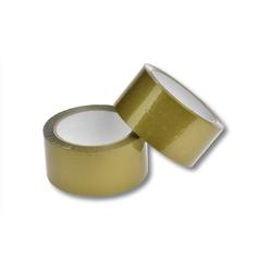 Klebeband Packband PP Acrylatkleber geräuscharm 50mm/66m, gold