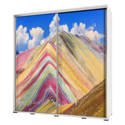 Szafa Wenecja 205 cm Kolorowe piaski