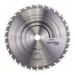 Bosch Kreissägeblatt Speedline Wood 350 x 30 x 3,5 mm 32