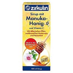Sirup mit Manuka Honig von zirkulin (100 ml)