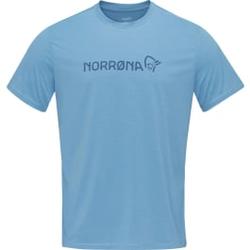 Norrona - Norrona Tech T-Shirt M Coronet Blue - T-Shirts - Größe: XL