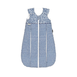Odenwälder Babyschlafsack Thinsulate-Schlafsack primaklima, stripes silber blau 90