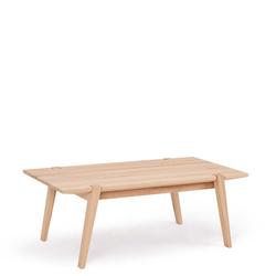 Vollholztisch aus Kernbuche Massivholz 120 cm breit