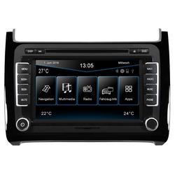 ESX Audio-System (ESX VW Polo 6C (ab 04/2014) 2-DIN Autoradio Navi VN720-VO-P6C-BLACK)