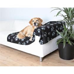 Trixie Barney Fleecedecke 150 × 100 cm, schwarz grau