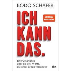 Ich kann das: Buch von Bodo Schäfer