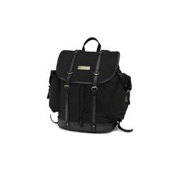 DRAKENSBERG Rucksack Backpack, aus Canvas und Büffelleder, 30l