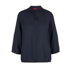 Jacquard-Bluse Damen Größe: 32