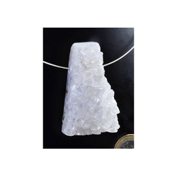 Adelia´s Kettenanhänger Bergkristall Schmuck Stein Anhänger