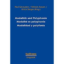 Modalität und Polyphonie / Modalité et polyphonie / Modalidad y polyfonía - Buch