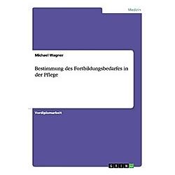 Bestimmung des Fortbildungsbedarfes in der Pflege. Michael Wagner  - Buch
