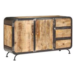 vidaXL Sideboard vidaXL Sideboard 140 x 40 x 80 cm Mango-Massivholz