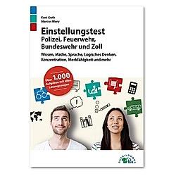 Einstellungstest Polizei, Feuerwehr, Bundeswehr und Zoll
