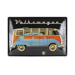 VW Bulli T1 & Käfer Blechschild