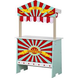 Play Shop 2 in 1- Kaufladen & Kasperle-Theater weiß-kombi