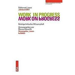 Work in Progress. Work on Progress - Buch