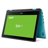 Acer Spin 1 (SP111-31-C7TZ) 2-in-1 Convertible Full-HD Touch IPS Display Intel Quad-Core N3450 4GB RAM 500GB HDD Win 10