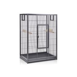 Montana Cages Vogelkäfig Melbourne I - Antik, Vogelkäfig - erweiterbarer Käfig Voliere für Sittiche, Kanarienvögel & Finken