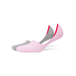 Burlington Füßlinge Damen Socken Everyday 2er Pack - Fuesslinge, Anti rosa 37-38 (4-5 UK)