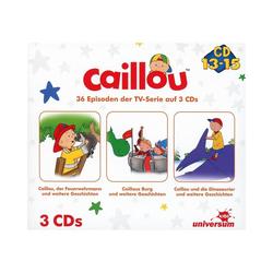 Caillou Hörspiel CD Caillou Hörspielbox 5 (CD 13-15)(3 CDs)