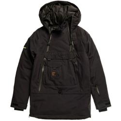 Superdry - Freestyle Overhead Jacket M Black - Skijacken - Größe: XL
