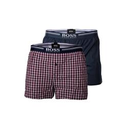 Boss Boxershorts Herren Web-Boxershorts, 2er Pack - Woven Shorts, 2XL