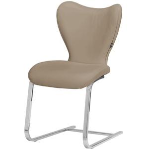 JOOP! Leder-Schwingstuhl  Lounge ¦ braun ¦ Maße (cm): B: 49 H: 89 T: 61 » Möbel Kraft