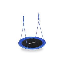 relaxdays Nestschaukel Nestschaukel 110 cm blau