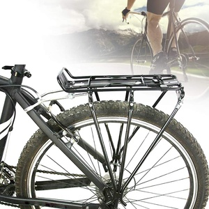 Hintere Fahrradträger Geschraubter Fahrradgepäckträger Aluminiumlegierung-Fahrrad Back Mountain Bike Ständer Dachgepäckträger Fahrrad-heckablage Fahrradzubehör