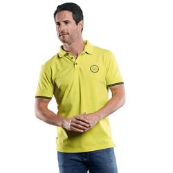 Sommerliches Poloshirt Engbers Zitronengelb