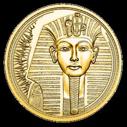 1/2 Unze Gold 100 Euro Das Gold der Pharaonen 2020 Proof-Qualität