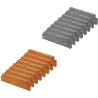 JUWEL 20579 Hochbeet Profiline Erweiterung, basalt