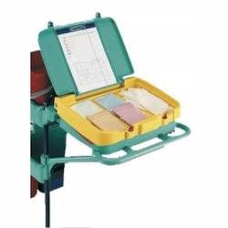 TTS Aufbewahrungsfach mit Deckel, Inklusive Reinigungsplan im Deckel, 1 Stück