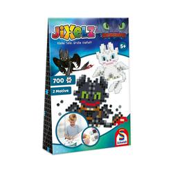 Schmidt Spiele Puzzle Jixelz Puzzle Dragons, 700 Teile, Puzzleteile