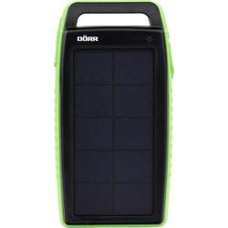 DÖRR SC-15000 gr 15Ah 980553 Solar-Powerbank Ladestrom Solarzelle 220mA Kapazität (mAh, Ah) 15Ah