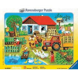Ravensburger Spiel, Ravensburger Puzzle Was gehört wohin 15 Teile