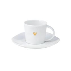 räder Espressotasse Goldenes Herz