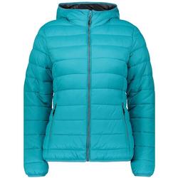 CAMPAGNOLO Outdoorjacke Campagnolo wärmende Übergangs-Jacke für Damen Freizeit-Jacke Türkis 36