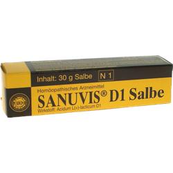 SANUVIS D 1 Salbe 30 g