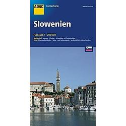 ADAC Karte Slowenien - Buch