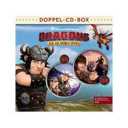 Dragons-auf Zu Neuen Ufern - Dragons-Doppel-Box-Folgen 44+45 (CD)