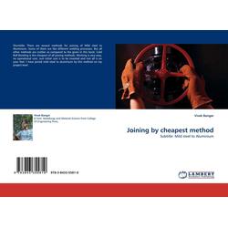 Joining by cheapest method als Buch von Vivek Bangar