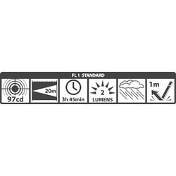 Mag-Lite Solitaire® Krypton Mini-Taschenlampe mit Schlüsselanhänger batteriebetrieben 2lm 3.75h 2