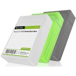 ICY BOX IB-AC6025-3 6.35cm (2.5 Zoll) Festplatten-Aufbewahrungsbox 3er Set