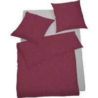 SCHLAFGUT Select Lipari bordeaux (155x220+80x80cm)