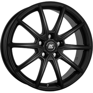 ALUFELGEN RCDESIGN, RC32, 7,5X19 ET40 5X108 65,1, SATIN BLACK MATT