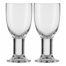Eisch Rotweinglas 2er Set Liz 340 ml, Kristallglas beige